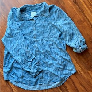Style & co. Patterned Button down
